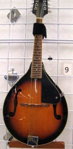 A mandolin for sale at St. Vincent de Paul's Fond du Lac.