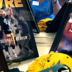 Packer memorabilia at St. Vincent de Paul's Fond du Lac.