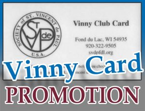 Vinny Card Special Promotion!