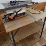 Black & Decker table saw.