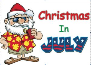 Christmas in July Sale 2018