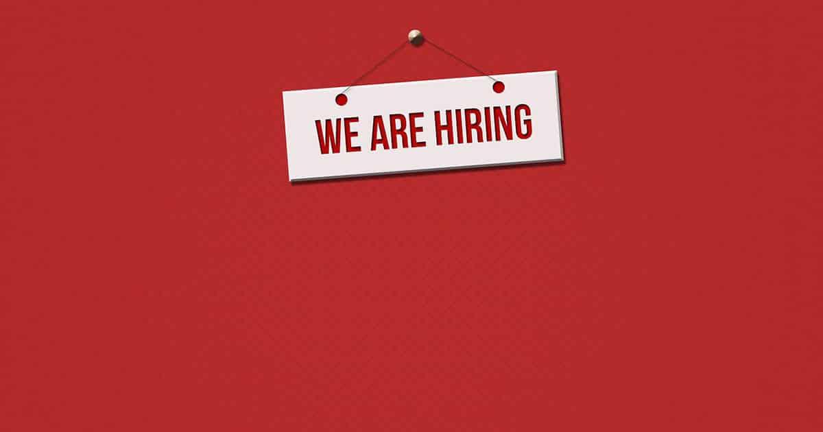 St. Vincent de Paul is hiring. Employment opportunity.