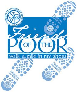 St. Vincent de Paul Friends of the Poor walk.