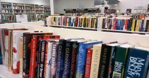Book section at St. Vincent de Paul Fond du Lac.