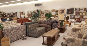 Furniture section at St. Vincent de Paul Fond du Lac.