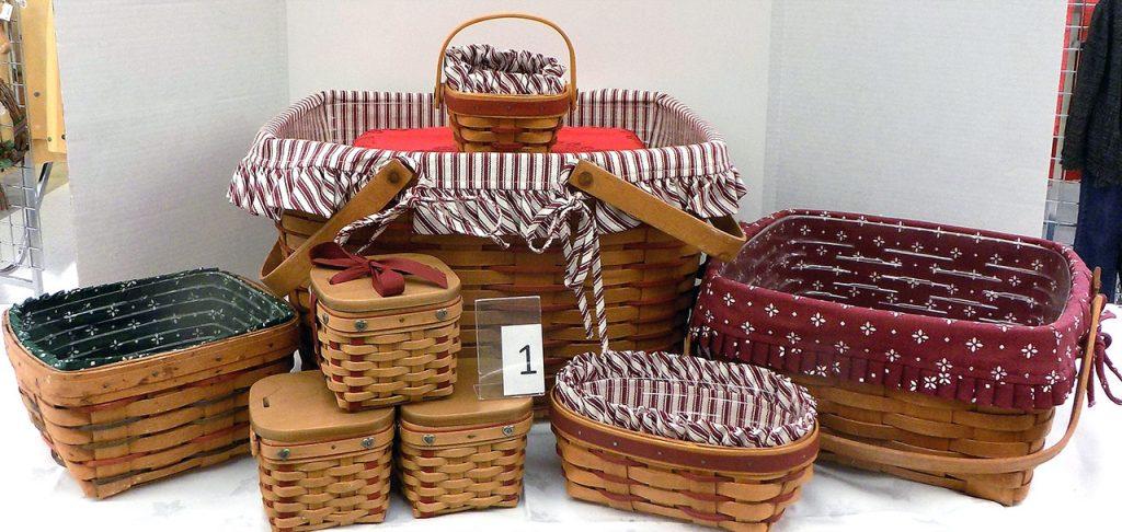 Longaberger basket set.