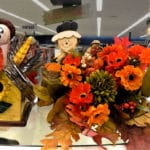 Fall Thanksgiving decorations for sale.