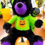 Plush Halloween bear for sale at St. Vincent de Paul, Fond du Lac.