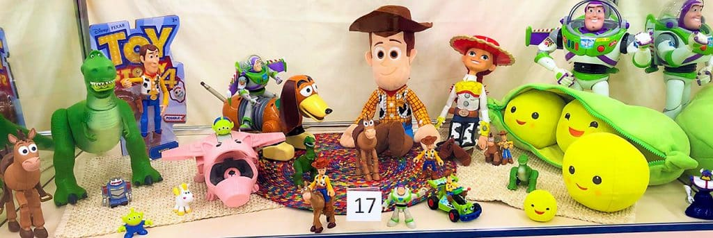 Toy Story toys.