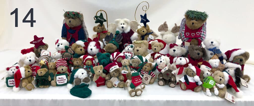 Christmas Boyd's Bears.