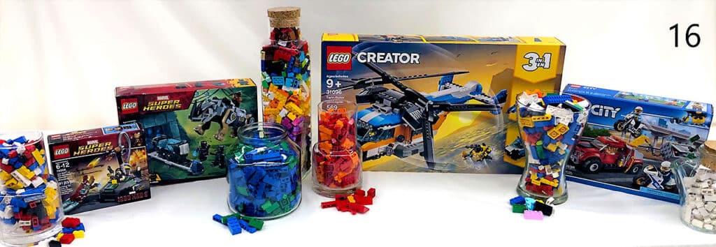 Lego toys.