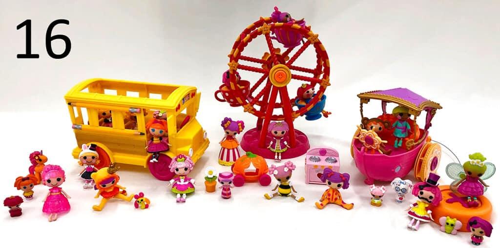 Lalaloopsy toys.