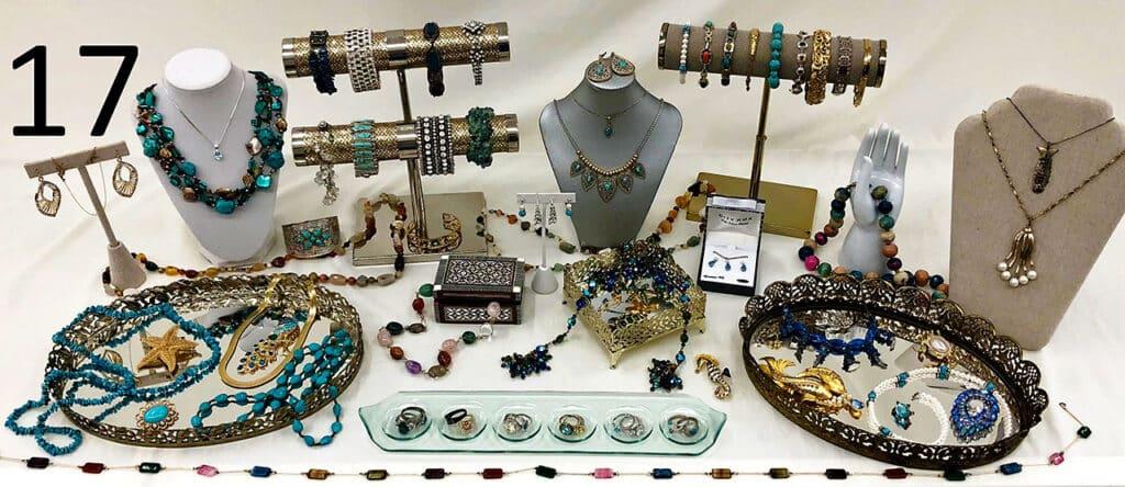 Women's jewelry.