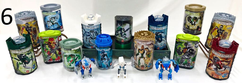 Lego Bionicle set.